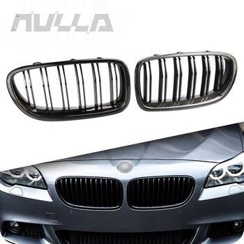 HQ carbon fiber & ABS bumper grille voor BMW 5 m serie F10 M5 518d 520d 525d 523i 530d 530i 540i 535i 550i 528d 2010-2017