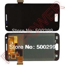 Untuk Samsung S2 4G LTE i9210 LCD layar dengan layar sentuh digitizer perakitan dengan pengiriman gratis; warna hitam; 100% garansi