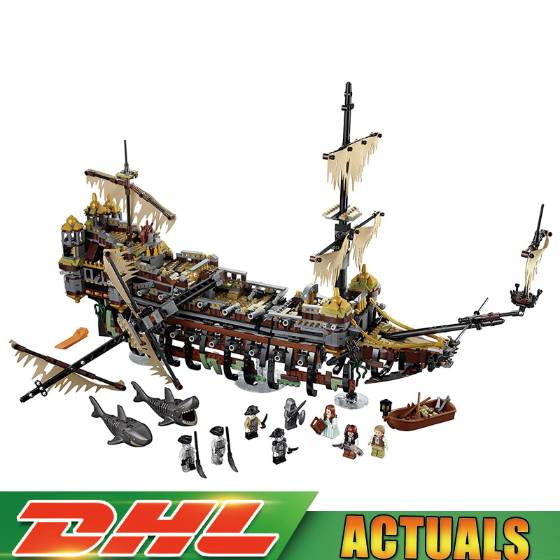 Lepin 16042 2344Pcs Pirate Ship The Slient Mary Set Children Building Blocks Bricks Toys Model Gift Compatible Legoings 71042 lepin 16042 pirate ship movie captain jack silent mary ship set caribbean model building blocks bricks diy toy 71042 children