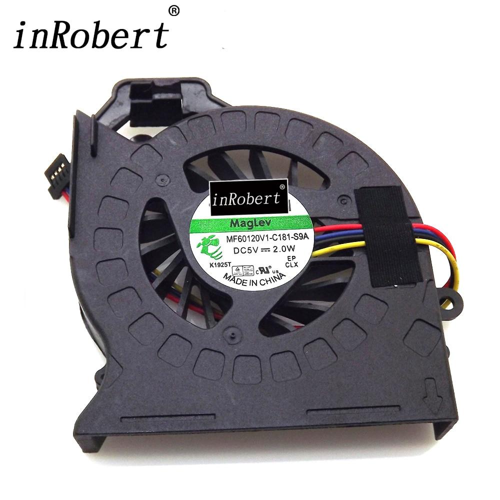 Nouvel Ordinateur Portable Refroidisseur Ventilateur MF60120V1-C180-S9A Pour HP Pavilion DV6 DV6-6000 DV6-6050 DV6-6090 DV6-6100 DV7 DV7-6000 MF60120V1-C181-S9A