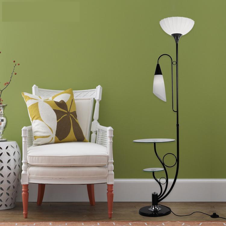 Stehlampen A1 Ye Auf Die Moderne Minimalistischen Wohnzimmer Doppel Tisch Lampe Schwarz Und Weiß Mode Kreative Beleuchtung Die Neue Fg534 Moderater Preis