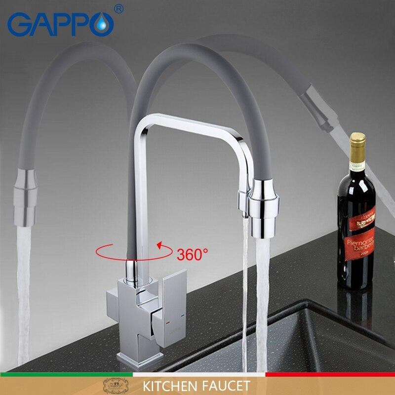 GAPPO robinet de cuisine cuisine évier filtre robinet robinets mélangeur cuisine robinets d'eau mélangeur pont monté griferia