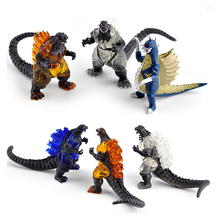 10Pcs/set Gojira action figures ultraman dolls PVC figure toys collection modle  Gomola Altman dinosaur gift