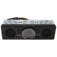 Vehicle Electronics In Dash MP3 Audio Player Car Stereo FM Radio AV252B 12V Bluetooth 2 1