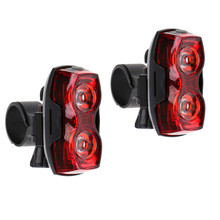2Pcs LED Waterproof Bike Tail Light Bicycle Rear Warning Light Lamp 3 Modes with Mount Clip Bicycle Accessories Waterproof стоимость