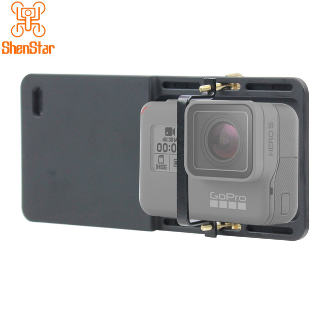 Cầm tay Gimbal Adapter Chuyển Núi Tấm cho GoPro Hero 3 3 + 4 Yi 4 k Máy Ảnh cho DJI Osmo zhiyun Mịn Q Di Động