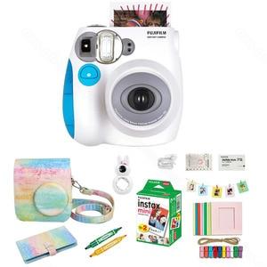 Image 4 - Fujifilm Instax Mini 7s Film natychmiastowy kamera i zestaw akcesoriów, w tym Mini Film, etui, Album fotograficzny, soczewki zbliżeniowe Selfie ect.