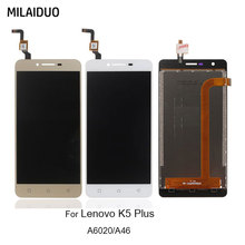 купить LCD Display For Lenovo Vibe K5 Plus A6000-A46 A6020a46 Touch Screen Digitizer Assembly Replacement with Frame Best Quality по цене 1048.71 рублей