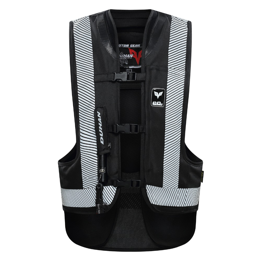 DUHAN Motorcycle Air-bag Vest Moto Racing Advanced Air Bag System Motocross Protective Airbag Gear without CO2 CartridgeDUHAN Motorcycle Air-bag Vest Moto Racing Advanced Air Bag System Motocross Protective Airbag Gear without CO2 Cartridge
