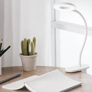 Image 5 - Original Xiaomi Yeelight LED USB Charge lampe de bureau Clip On Stand veilleuse Rechargeable portable 5 W gradation 3 Mode lampe de lecture