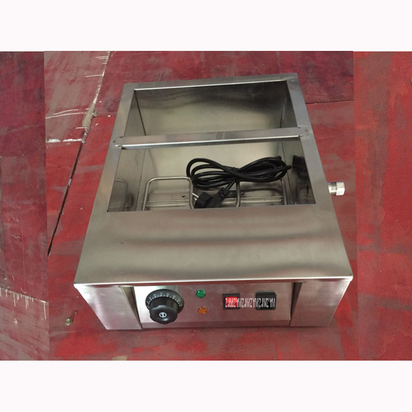 C2002-2 Commercial 110 v 220 v Electric 8 kg Chocolate Fountain Chocolate Fusion Temperer Warmer Boiler Machine 2 Melting Pot
