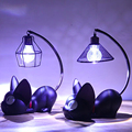 2018 Home Decoration Accessorie Manualidades Miniature Decoration Small Cat Night Light Resin Crafts Decoration