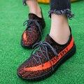 2017 Mujeres A Estrenar Casual Chaussure ShoesFemale Entrenadores Transpirable Mujeres de Los Planos Mujeres Mujer Negro Gris Jogging Al Aire Libre