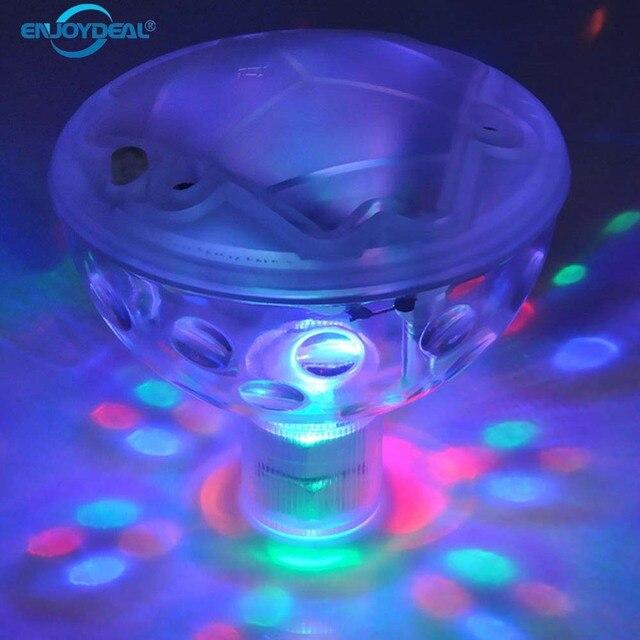 Waterdichte Kleur Veranderende Glowing LED Onderwater Fontein ...
