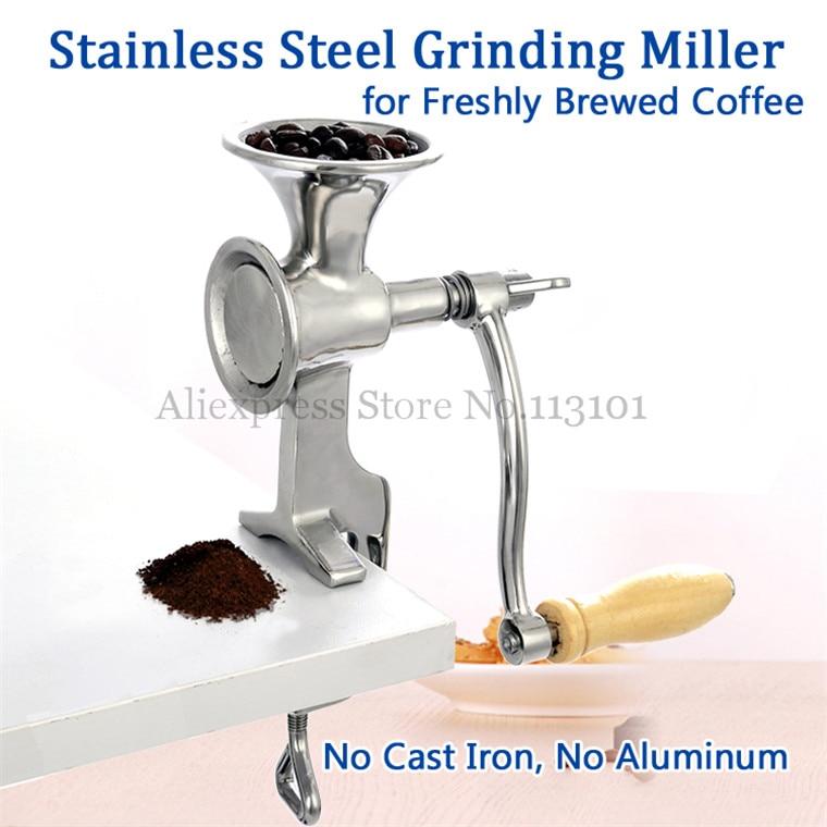 Stainless Steel Grinding Machine Grinder Miller Walnut Peanut Pulverizer for Coffee Bean Chili Soybean