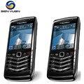Original desbloqueado blackberry 9105 3.2mp cámara bluetooth 3g wifi gps 9105 teléfono celular del envío gratis