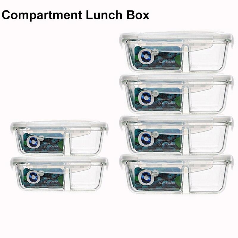 Bo/îte repas avec 2 compartiments et des couverts compatible lave-vaisselle et micro-ondes Bento Box par Nifty Kitchen Id/éal pour adultes et enfants homme et femme. /Étanche