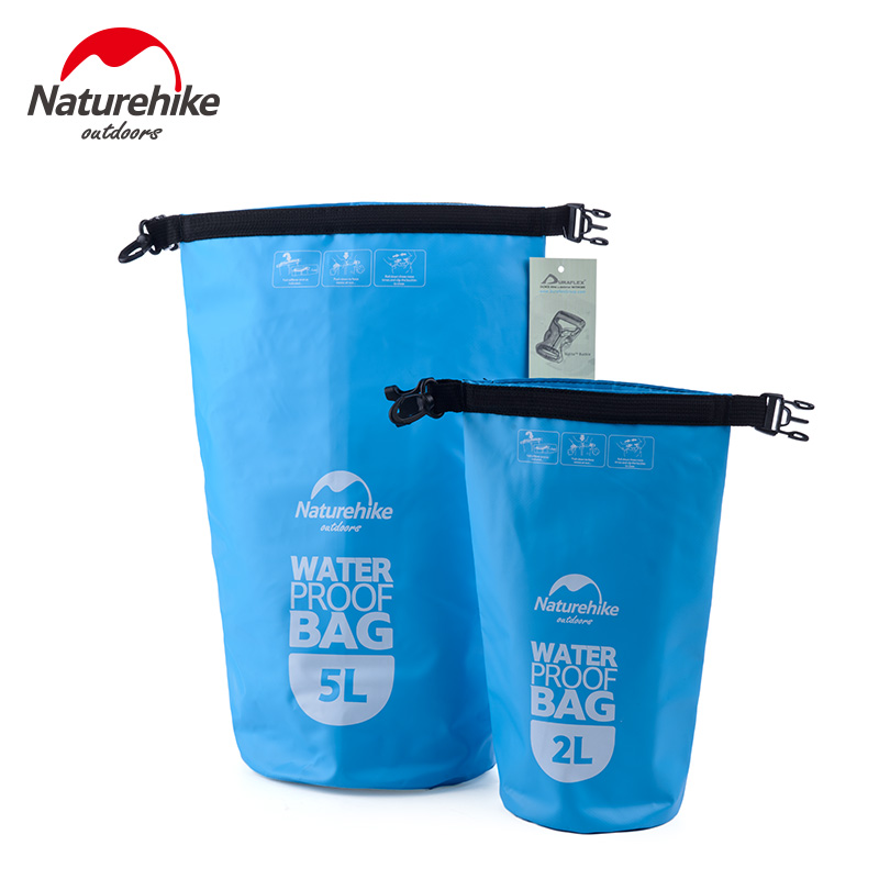 Us 7 9 40 Off 2l 5l Naturehike Waterproof Bag Phone Case Small Dry Sack For Kayaking Boating Canoeing Rafting Swimming Camping In Bags From