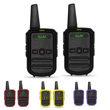 2pcs WLN KD C52 MINI handheld fm transceiver KD C52 two way  Radio Ham  HF cb radio  Walkie Talkie frs gmrs betterthan KD C51