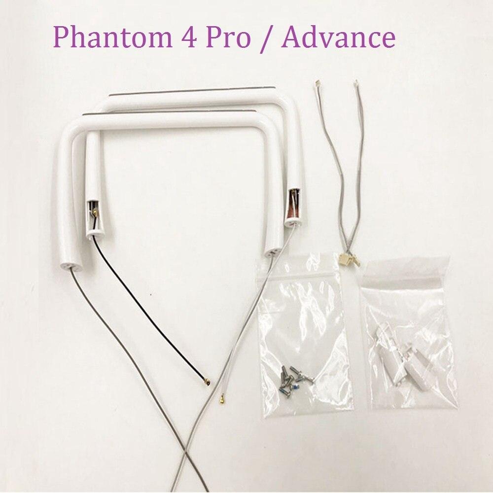 100 Original Phantom 4 Pro Landing Gear Legs Built In Antenna Compass Screws For DJI Phantom