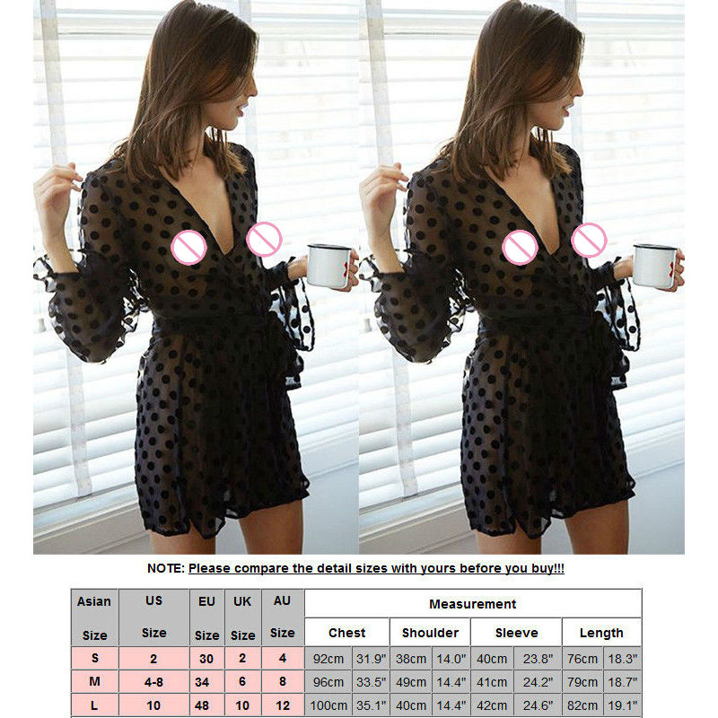 2018 Sexy Women Deep V Lingerie Lace Push Up Bra Sleepwear Babydoll For Adults Nightwear Dress