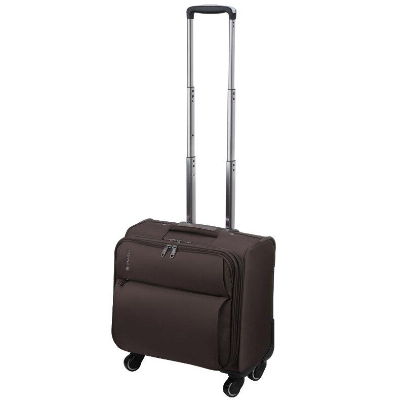 Hanke 16 Inch Boarding Luggage Men Women Travel Suitcase Trolley Case Luggage Bag Spinner Wheels 8039S 3 Year WarrantyHanke 16 Inch Boarding Luggage Men Women Travel Suitcase Trolley Case Luggage Bag Spinner Wheels 8039S 3 Year Warranty