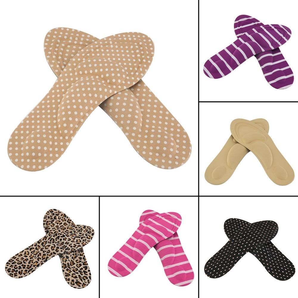 1 Пара Арка Поддержка ортопедические по уходу за ногами массаж на высоком каблуке из мягкой обуви колодки для женщин