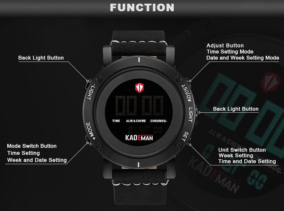 KADEMAN Army Military Luxury Brand Men's Watches Men Sports Watch Quartz Digital Clock Man Leather Wrist Watch Relogio Masculino (16)