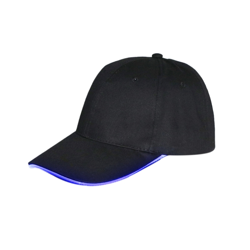 KLV Fashion Cool LED  Light Up Baseball Hats Luminous Glow Adjustable Cap Party Sport