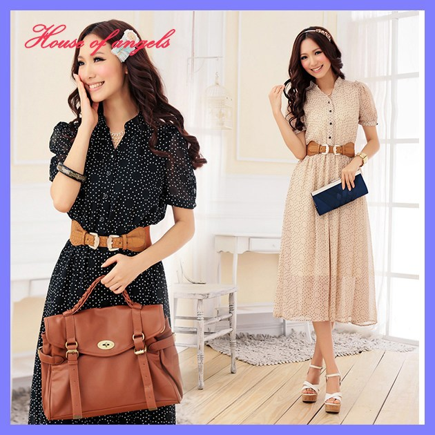 5be94bcd121 Free shipping Mid-calf bohemian dress 2013 summer Plus size New fashion  Women vintage clothing wholesale and retail Qfeimei98157