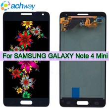 """Super amoled para 4.7 """"samsung galaxy note 4 mini lcd g850f tela de toque digitador assembléia para samsung alpha g850 lcd"""