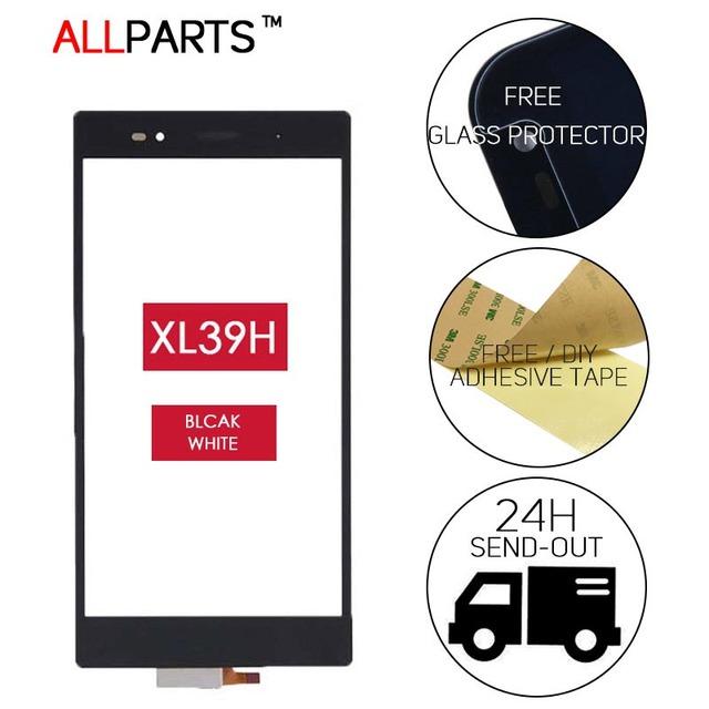 Originl 6.44 polegada tela de toque de tela sensível ao toque para sony xperia z ultra xl39h com painel parte substituição digitador adesiva livre