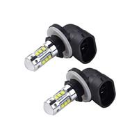 NICECNC 2 Pcs 80W LED Super White Headlight Bulb Lamp For Polaris Sportsman Ranger Touring Utility 400 450 500 550 600 700 800