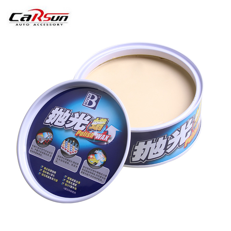 Polishing Paste Car Wax Gloss Car Polishes Paste Wax Car Paint Care Hard Wax Auto Beauty Accessories with spongia LH-121