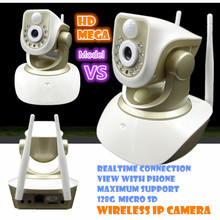 Wireless IP Camera 720P  Wifi HD  PIR Baby monitor CCTV sd card surveillance video record Infrared Motion Sensor Alarm Security