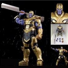 7inch 18cm 2019 Movie Marvel Avengers 4 Endgame SHF Thanos Action Figur