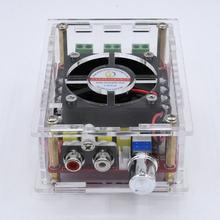 24V DC 12V TDA7498 100WX2 alta placa amplificadora de Audio tipo RCA para coche amplificador para altavoz de cine en casa