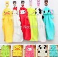 free shipping 10pcsColorful sweet candy colored cartoon baby towel super soft coral fleece kid child towel wipe sweat b1trq0016