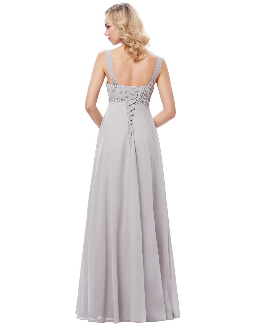 HTB1cg68OFXXXXb4XVXXq6xXFXXXZLong Formal Dress Elegant Floor Length Chiffon Dress