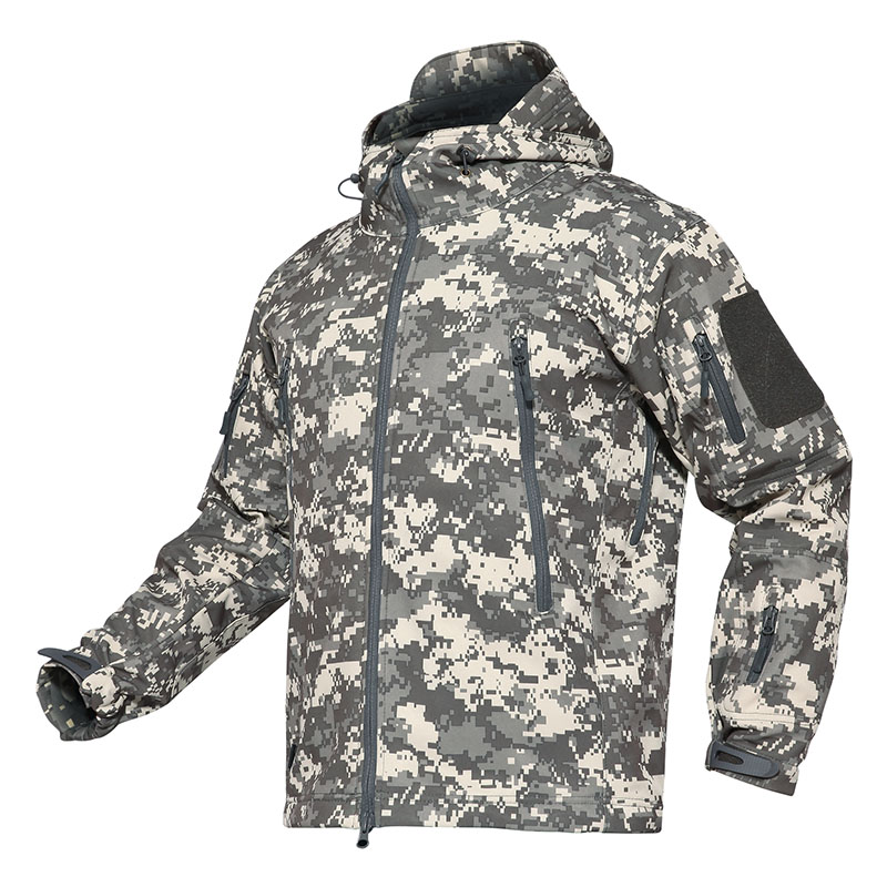 ec52585619259 Dropwow TACVASEN Camouflage Men Jacket Coat Military Tactical Jacket ...