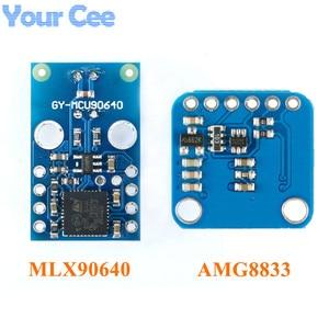 Image 2 - AMG8833 IR 8*8 MLX90640 32*24 תרמית Imager מערך טמפרטורת חיישן מודול 8x8 32x24 אינפרא אדום מצלמה חיישן