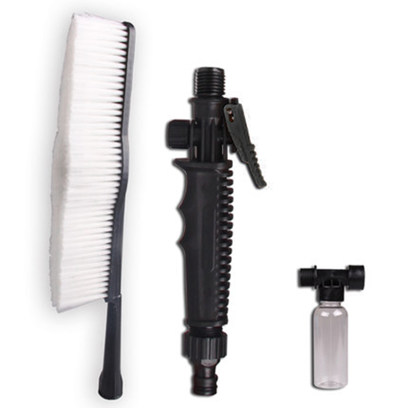 Superfine Wire Wash Brush Dengan Long Handle Switch Water Flow Foam - Barang dagangan isi rumah