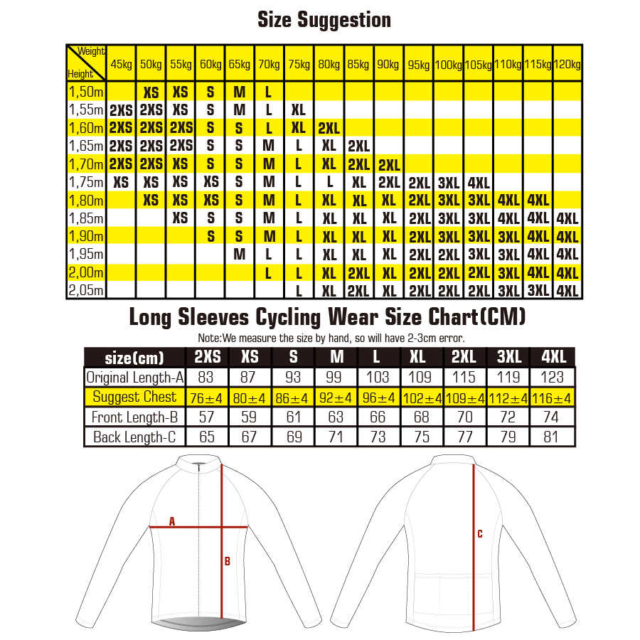 Autumn Full Sleeves Cycling Jersey Wear Maillot Ropa Ciclismo Men Bicycle Shirts Quick-dry Bike Jersey Sports Long Cycling Shirt