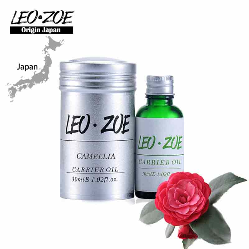 Famous Brand LEOZOE pure camellia oil Certificate of origin Japan Camellia essential oil 30ML well known brand leozoe frankincense essential oil certificate of origin ethiopia authentication frankincense oil 30ml100ml