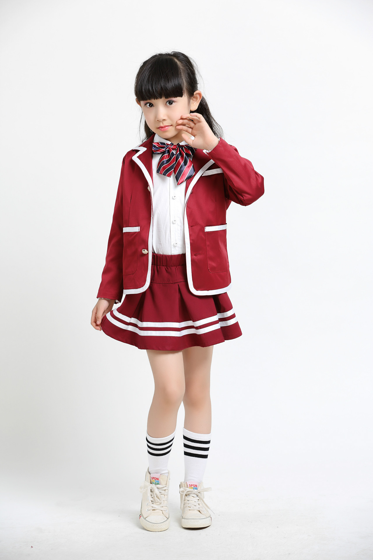 British Middle School Uniform Japanese High School Uniform -4343