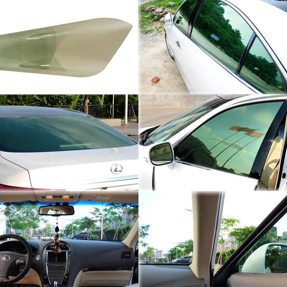 แสงสีเขียว VLT 80% Auto รถสติกเกอร์รถด้านข้างพลังงานแสงอาทิตย์ภาพยนตร์ฟิล์มรถ Home Scratch Resistant Membrane 50*300 เซนติเมตร