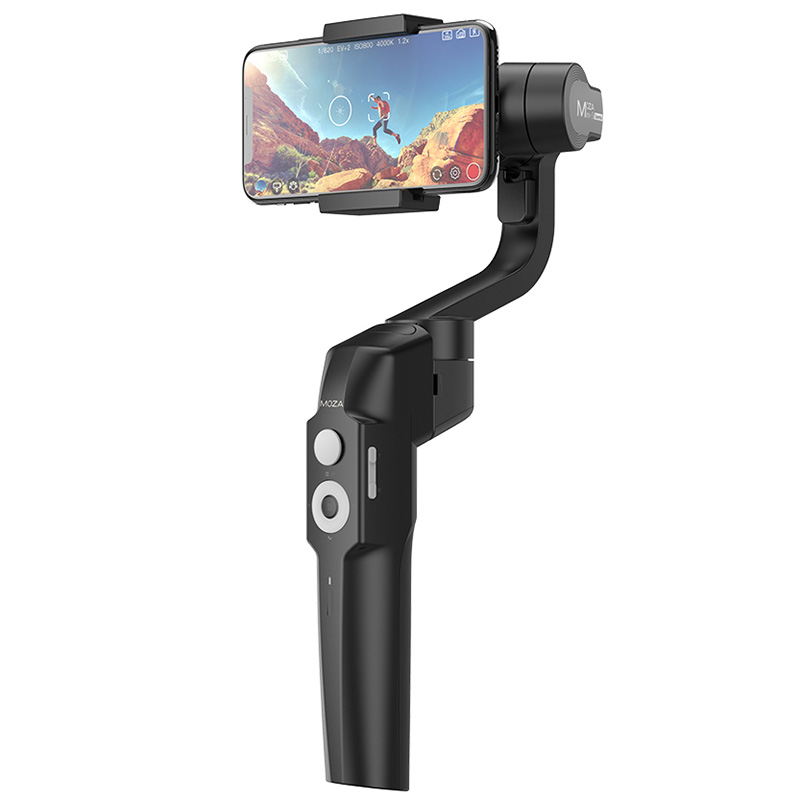 MOZA MINI - S Smart Foldable 3-Axis Handheld Gimbal Stabilizer Time-lapse Photography for iPhones Andriod 8.1 Smart PhonesMOZA MINI - S Smart Foldable 3-Axis Handheld Gimbal Stabilizer Time-lapse Photography for iPhones Andriod 8.1 Smart Phones