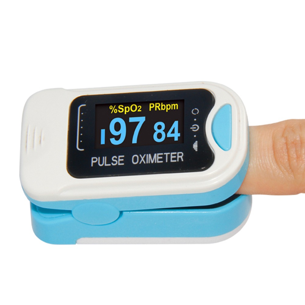 USA Shipping 2018 CE OLED Fingertip oxymeter spo2,PR monitor Blood Oxygen Pulse oximeter,CMS50NA