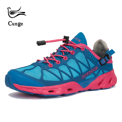 cunge new unisex Breathable Hiking Shoes Outdoor sneakers for men Women wading  Hiking shoes Sandals Trekking mesh Water Sandals Lahore
