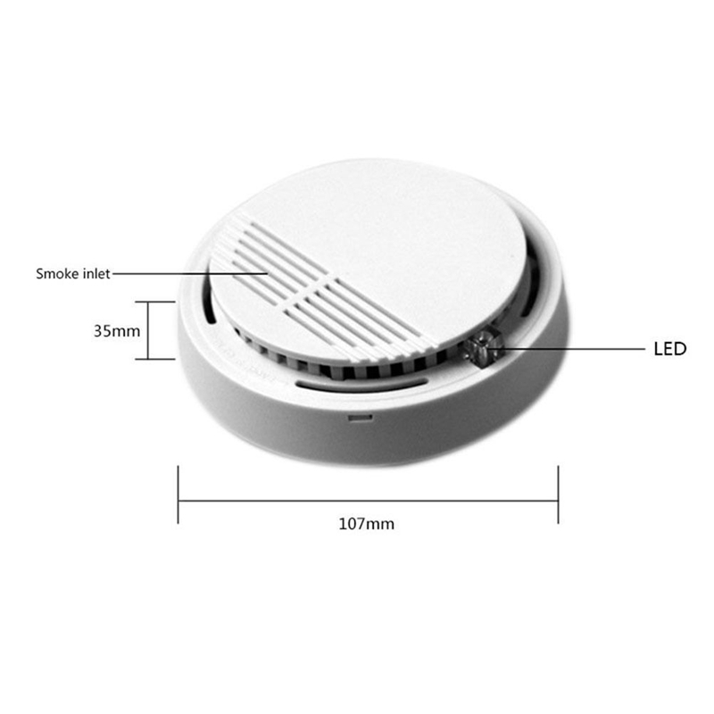 DC9V Battery Operation Stand Alone Independent Smoke Detector 5